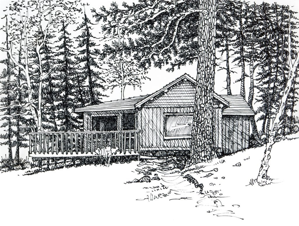 Cabin near Boundary Waters