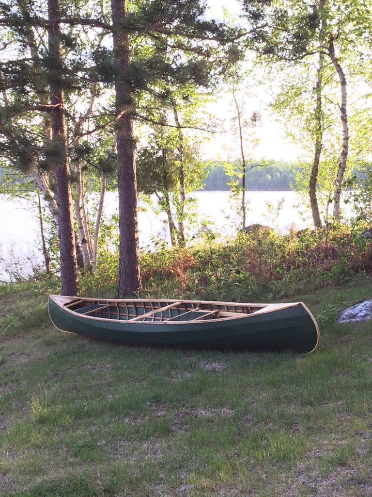 Joe Seliga canoe